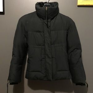BCBG MAXAZRIA black coat, size XXS